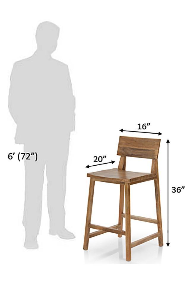 Natural Emma Bar Chair