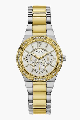 4634a0aa2 Buy GUESS Womens Analogue Metallic Watch - W0845L5 | Shoppers Stop