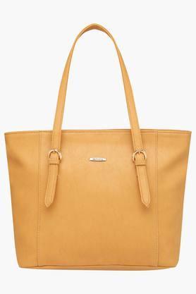 HAUTE CURRYWomens Zipper Closure Tote Handbag - 203524588