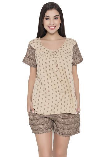 CLOVIA -  BeigeNightwear - Main