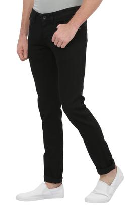 Mens 4 Pocket Coated Core Jeans