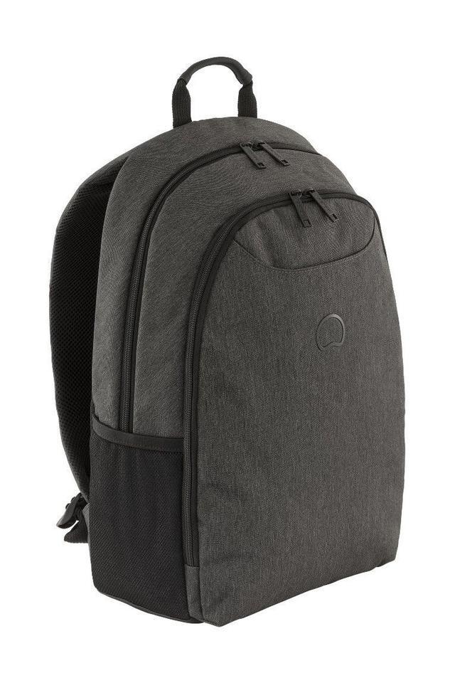 Unisex Zipper Closure 2 Compartment Laptop Backpack