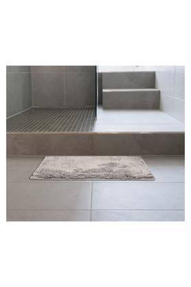 Lux Cotton Rectangular Textured Slub Bath Mat
