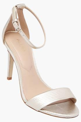 ALDO Womens Party Wear Buckle Closure Heels - 203121410