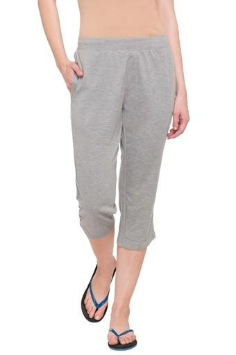 SWEET DREAMS -  Grey Melange Nightwear - Main