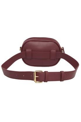 Womens Casual Wear Zip Closure Multi Utility Sling Clutch