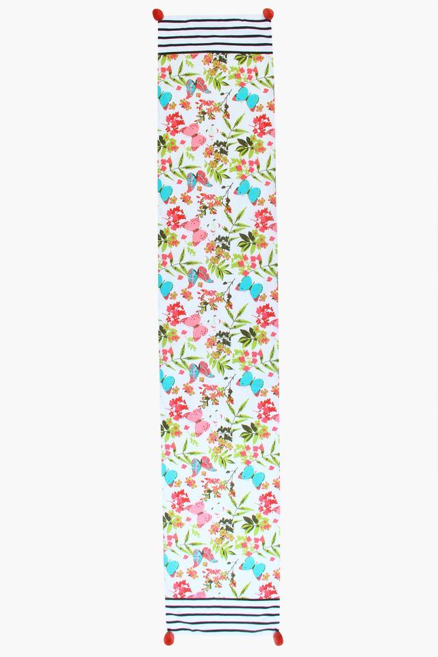 Floral Print Table Runner