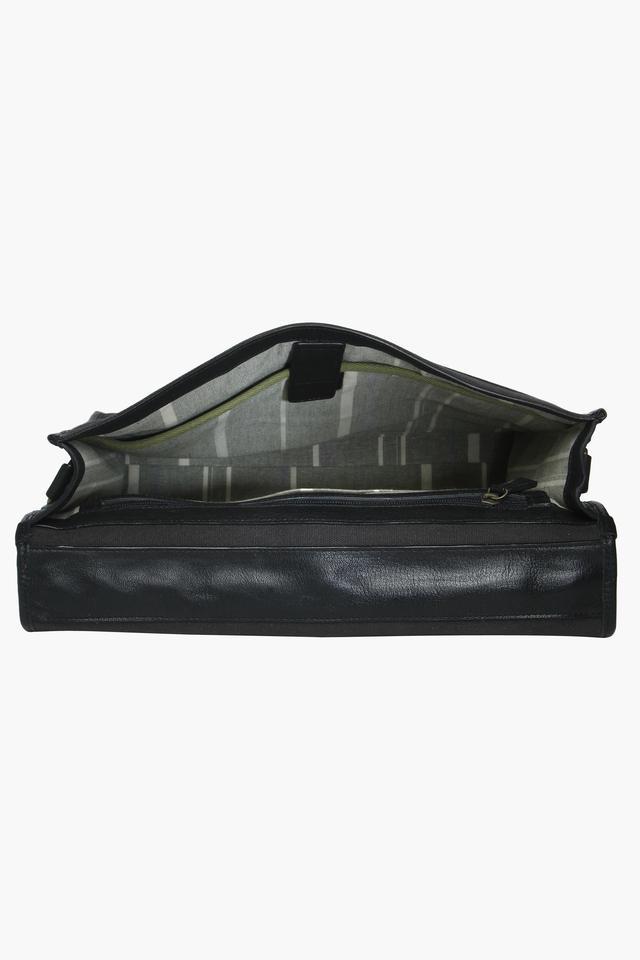 Unisex Buckle Closure Laptop Sling bag