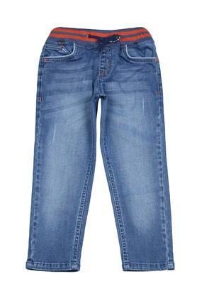 Boys 4 Pocket Distressed Jeans