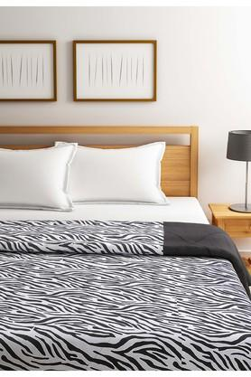 Black and White Abstract Double AC Comfortor