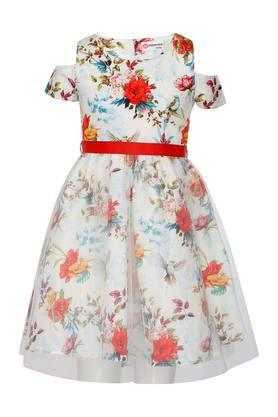 76065f8e912 X PEPPERMINT Girls Round Neck Floral ...