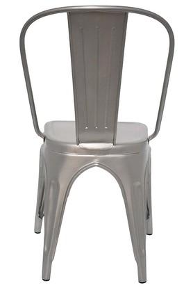 Silver Stylo Chairs Set of 4