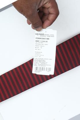 Mens Striped Formal Tie