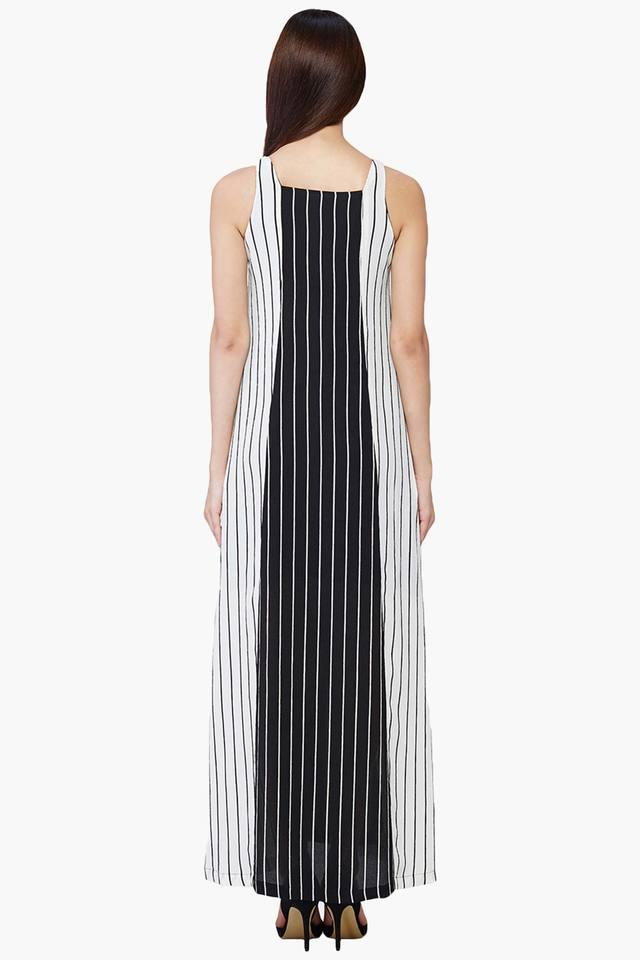 df0068a72a Women s Striped Trapeze Maxi Dress  Women s Striped Trapeze Maxi Dress ...