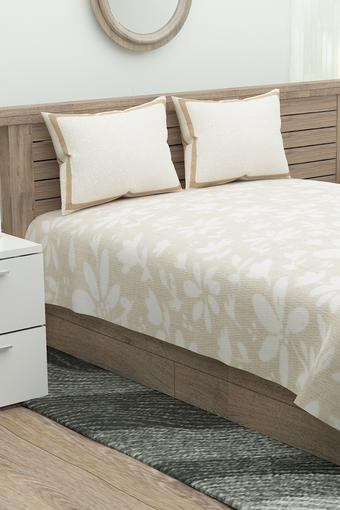 FERN -  Brown Bed Sheets - Main