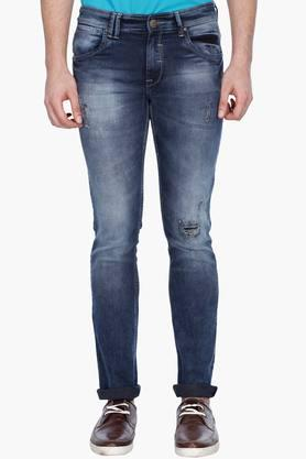 LIFE Mens Distressed Jeans - 201394668