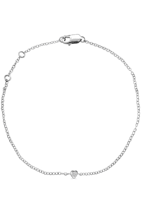 SPARKLES His & Her Collection Diamond Bracelets In 925 Sterling Silver And Real Diamond - 0.05 Cts