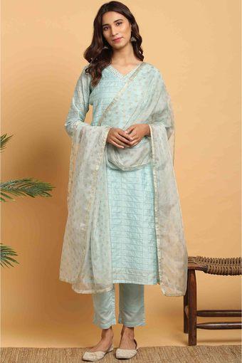 JANASYA -  BlueIndianwear Sets - Main