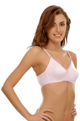 Cotton Rich T Shirt Bra Cross-Over Moulded Cups