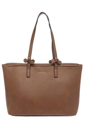 ALLEN SOLLY -  BrownHandbags - Main