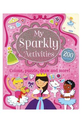 My Sparkly Activities: Colour, Puzzle, Draw and More!