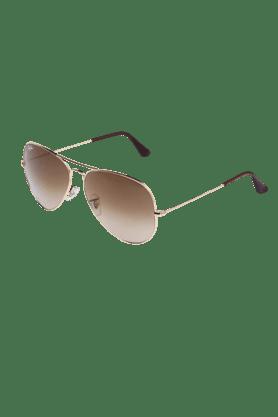 Mens Aviator Full Rim Sunglasses-302515162