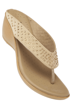 Lemon Amp Pepper Womens Wedge Chappal Best Deals With Price