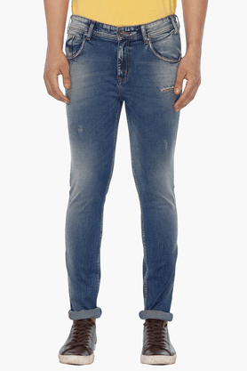 LIFE Mens Distressed Jeans - 201466452