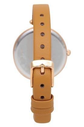 Womens Raga Two Tone Dial Leather Analogue Watch - 2606WL01