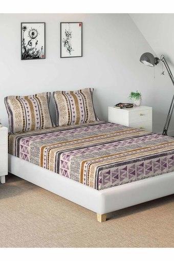 D'DECOR -  GrapeSingle Bed Sheets - Main