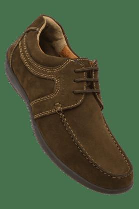 WOODLANDMens Nubuck Leather Lace Up Casual Shoe