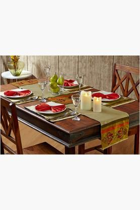 STOA PARIS Multi Colour Multi Colour Table Linen (Place Mat Napkin Sets (12 Pcs) - 202234520