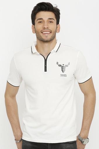 REX STRAUT JEANS -  WhiteT-Shirts & Polos - Main