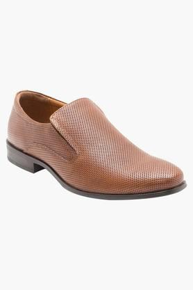 RED TAPE Mens Leather Slip On Formal Loafers