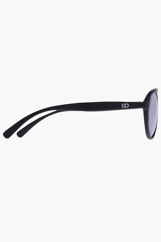 Unisex Brow Bar Polycarbonate Sunglasses VS136C1BK