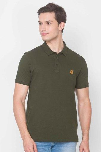 SPYKAR -  GreenT-Shirts & Polos - Main
