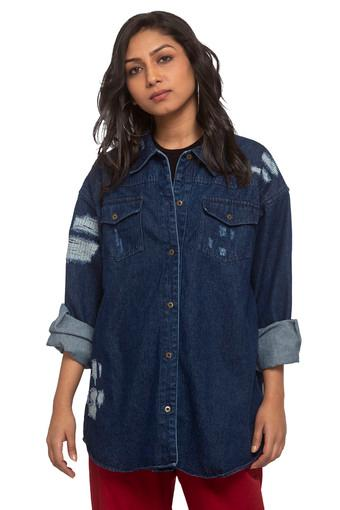 RHESON -  Denim Indigo Dark Pvt Women Western Buy 3 Get 50% Off - Main