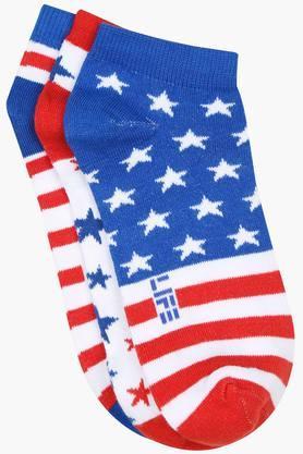 Womens Printed Socks Pack of 3