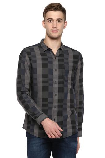 WRANGLER -  BlackCasual Shirts - Main