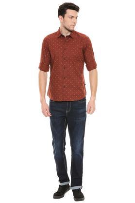 PARX - Dark BrownCasual Shirts - 3
