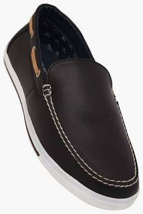 LIFEMens Leather Slip On Loafers