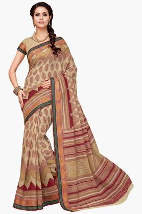 ASHIKA Womens Designer Cotton Printed Saree - 202338230