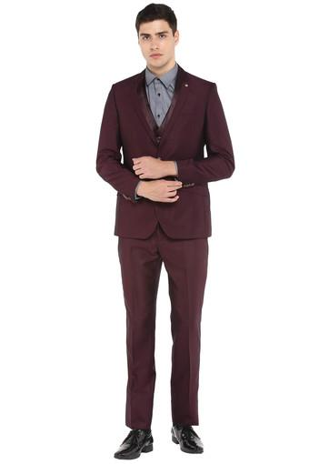 RAYMOND -  Maroon Suits & Blazers & Ties - Main