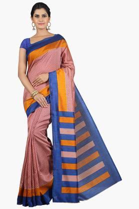 JASHNWomen Tussar Silk Printed Saree - 201860669