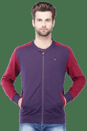 ARROW SPORTMens Full Sleeves Slim Fit Solid Jacket
