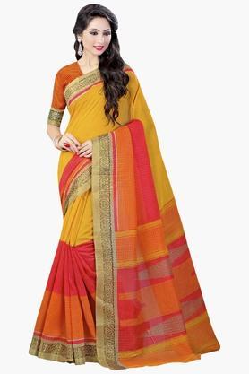 DEMARCAWomens Silk Designer Saree - 202338139