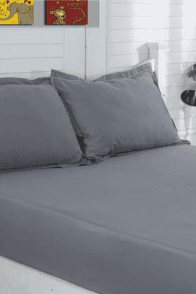 MASPARCotton Satin Extra Large Bed Sheet - 200919077_9900