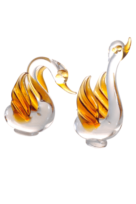 REAL EFFECT AMBER SWAN PAIR-RE374CY