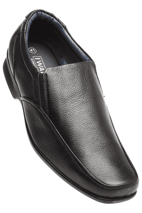 IWALK Mens Black Formal Shoes