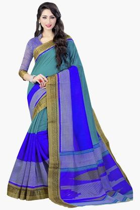 DEMARCAWomens Silk Designer Saree - 202338140